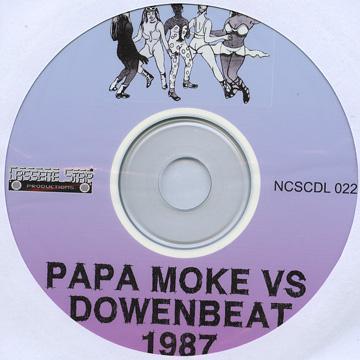 Papa Moke VS Downbeat 1987 (Plane Sleeve) (CD-R)