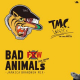 Turtle Mans Club - TMC Works: Bad Animals Mix Vol.few It's Not 2 Jamaican Brand New Mix One Drop Edition