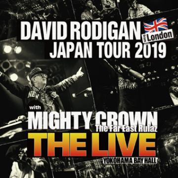 David Rodigan Japan Tour 2019 With Mighty Crown: The Live (2CD)