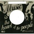 "Label Card Sleeve - 7"" VP Records -- Black"