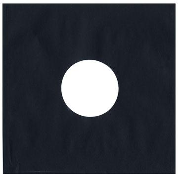 "12""/LP  Black Heavyweight Paper Sleeve"