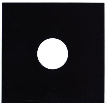 """12""""/LP 黒 厚紙 中央穴有り 10枚セット"""