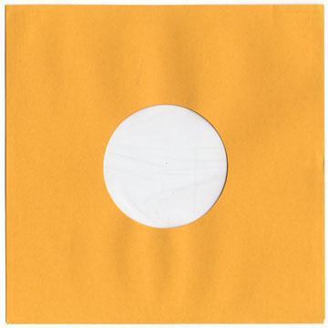 """重量紙スリーブ・インナー付 - 10"""" 金色 重量紙 オールドスタイル ビニール入り 50枚セット (アメリカ製)"""