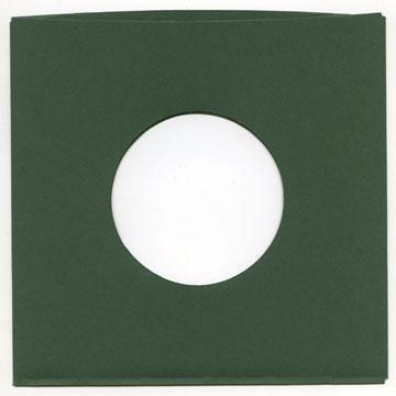 "7"" Green Heavyweight Paper Sleeve QTY. 10"