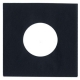 "Heavyweight Paper Sleeve - 7"" Black Heavyweight Paper Sleeve QTY. 100"
