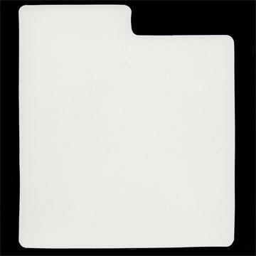 """7"""" White Plastic Divider QTY. 10"""
