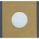 "Polylined Card Sleeve - 7"" Handmade Brown Polylined Card  -- Gray Edge"