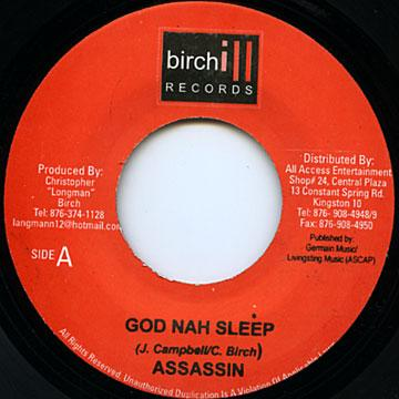 ReggaeCollector com - Agent Sasco (Assassin) - God Nah Sleep