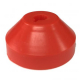 "Spindle Adapter - 7"" Plastic #2886 -- Red"