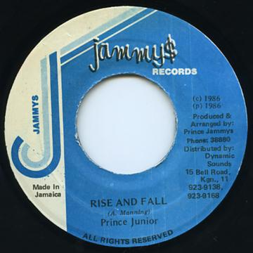 Prince Junior - Rise And Fall (7