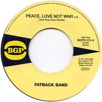 Peace Love Not War / Put It In