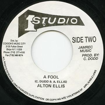 Alton Ellis - A Fool (7