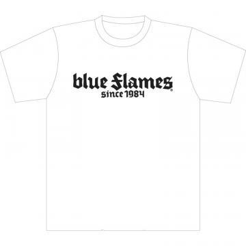 Blue Flames -- White L