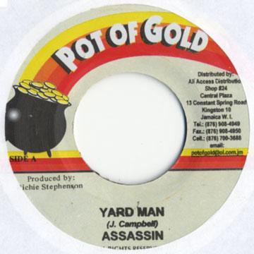 ReggaeCollector com - Agent Sasco (Assassin) - Yard Man (Pot