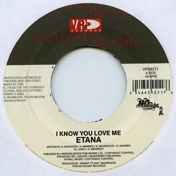 I Know You Love Me