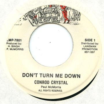 Conroy Smith - Don't Turn Me Down (7