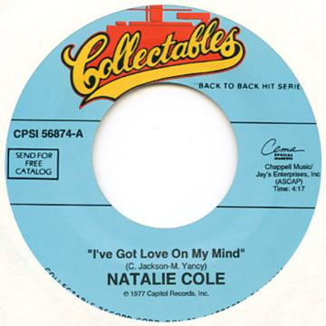 Natalie Cole - I've Got Love On My Mind (7