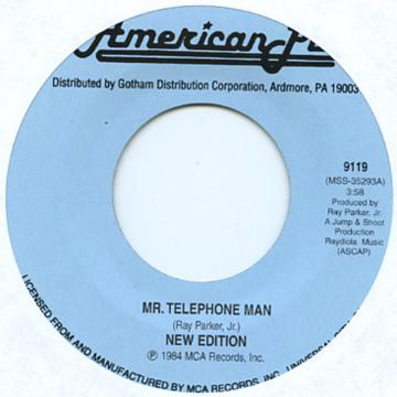 Mr. Telephone Man / Can You Stand The Rain