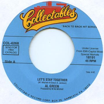 Al Green - Let's Stay Together (7