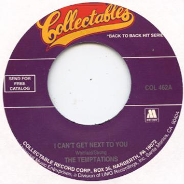 I Can't Get Next To You / Psychedelic Rock