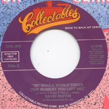 David Ruffin - My Hole World Ended (The Moment You Left Me) (7