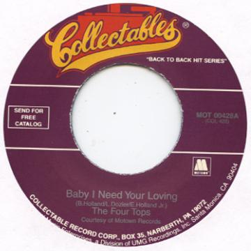 Four Tops - Baby I Need Your Loving (7