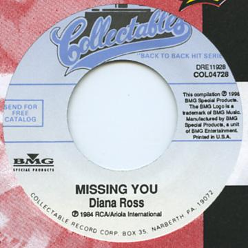 Diana Ross - Missing You (7