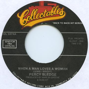 Percy Sledge - When A Man Loves A Woman (7