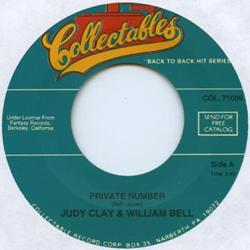 Judy Clay, William Bell - Private Number (7