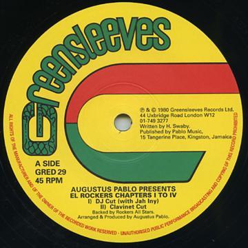 Augustus Pablo - Augustus Pablo Presents El Rockers Chapters