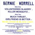Bernie Worrell - Volunteered Slavery; Killer Mosquito (Picture Sleeve)