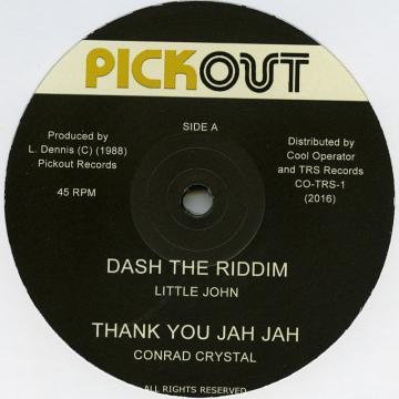 Dash The Riddim; Thank You Jah Jah / Run Around Girl; Version