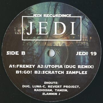 Frenzy; Utopia (Dug Remix) / Go!; Scratch Samples