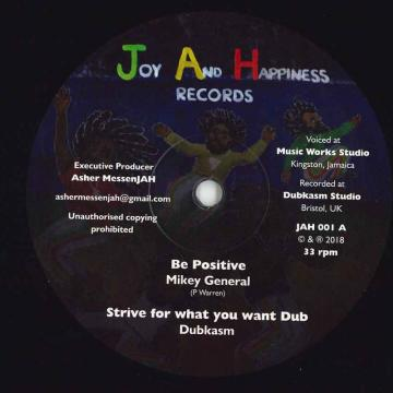 Be Positive; Strive For What You Want Dub / Hearer Of Prayer; Jah Always Hears Dub