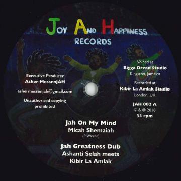 Jah On My Mind; Jah Greatness Dub / Jah No Partial; Jah Ova Evil Dub