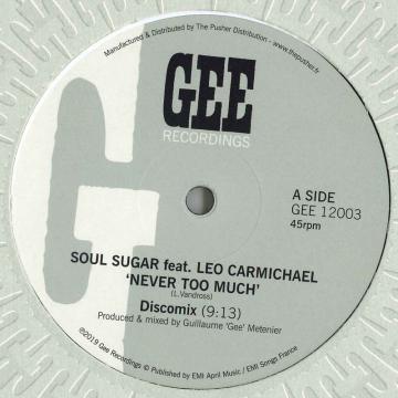 Never Too Much (Discomix) / (Adam Prescott Remix); (Sly & Robbie Remix)