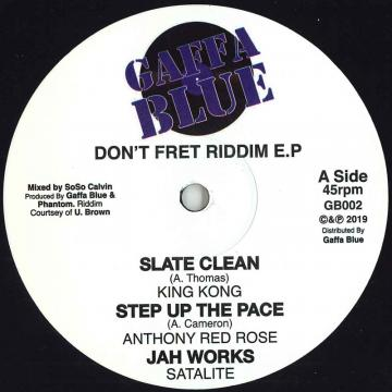 Don't Fret Riddim EP