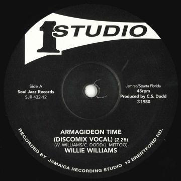Armagideon Time (Discomix Vocal) / Armagideon Time (Discomix Version)