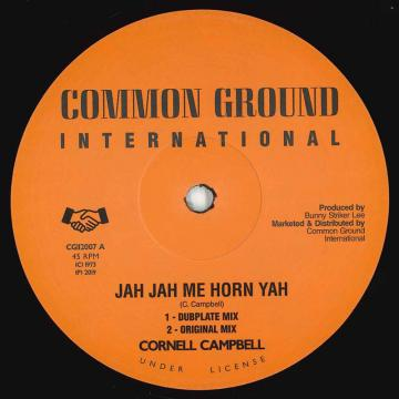 Jah Jah Me Horn Yah (Dubplate Mix); (Original Mix) / (Dubplate Version)