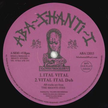 Ital Vital; Ital Vial Dub / Concrete Stepper; Stepper Dub