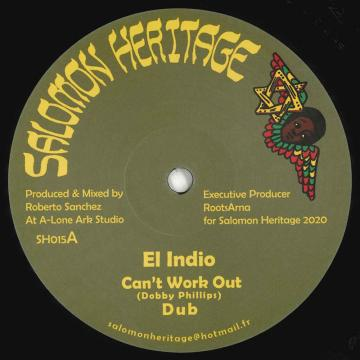 Can't Work It Out; Working Dub / Love Inna Zion; Dubwise Inna Zion