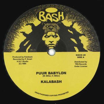 Puur Babylon / Bash; Bashed Up