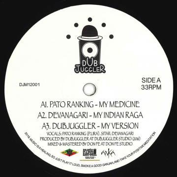 My Medicine; My Indian Raga; My Version / Soldados De La Musica; Meditation Dub; Raw Dub