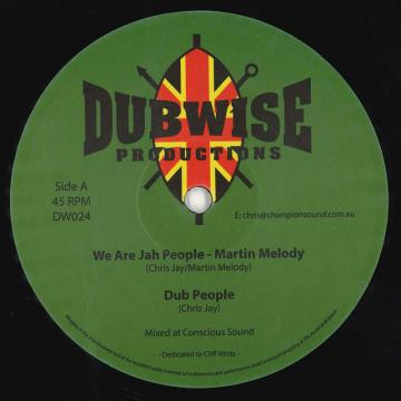 We Are Jah People; Dub People / Can't Stop The Vibes; Can't Stop The Dub