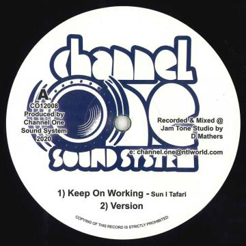 Keep On Working; Version / Working Horns; Dub Plate Cut