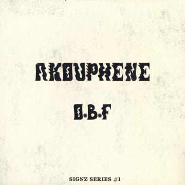 Akouphene Original Mix / Akouphene Bad Boy Mix