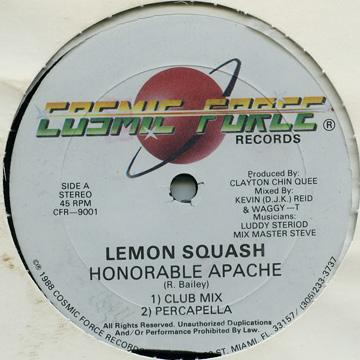 Honarble Apache - Lemon Squash (Radio Edit); Version (12