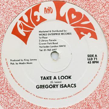 Gregory Isaacs - Tak A Look (12