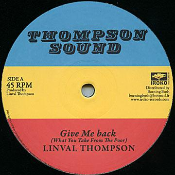 Give Me Back; Version / Lump Sum; Version