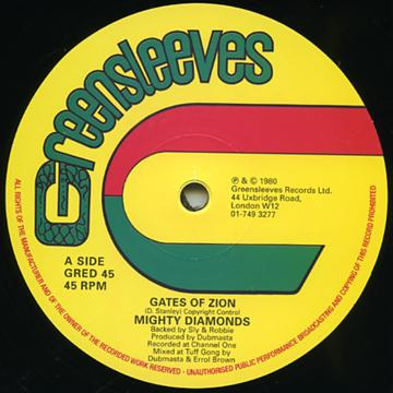 Gates Of Zion (Extended Mix) / Zion In Dub